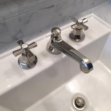 chrome, custom design, bathroom vanity, los gatos